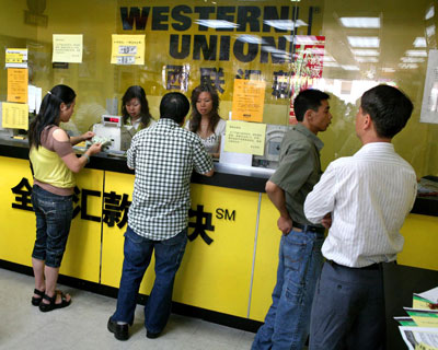 Western Union Customers