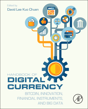 Couverture du Handbook of Digital Currency publié chez Elsevier